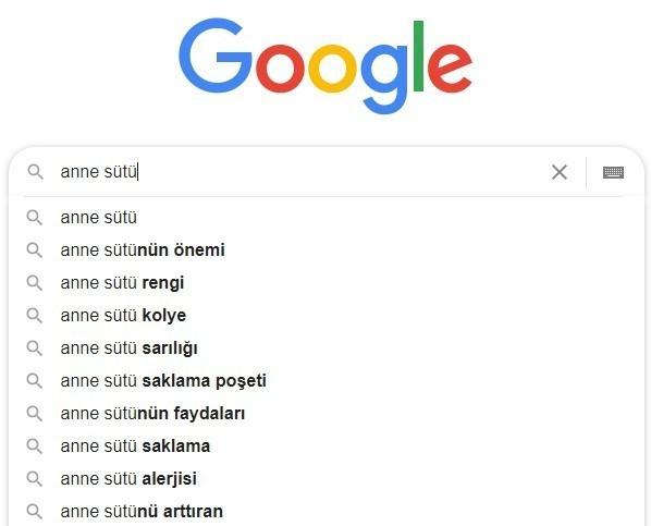 google arama seo